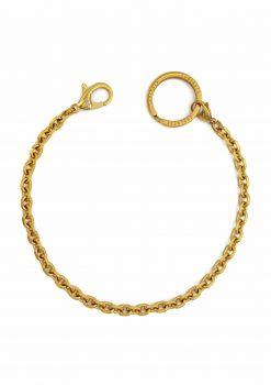 nyckelkedja guld väskkedja uppifrån