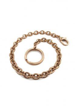 Nyckelkedja rose guld med design nyckelring keychain rose gold