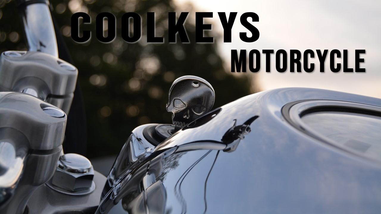 cool motorcycle keys