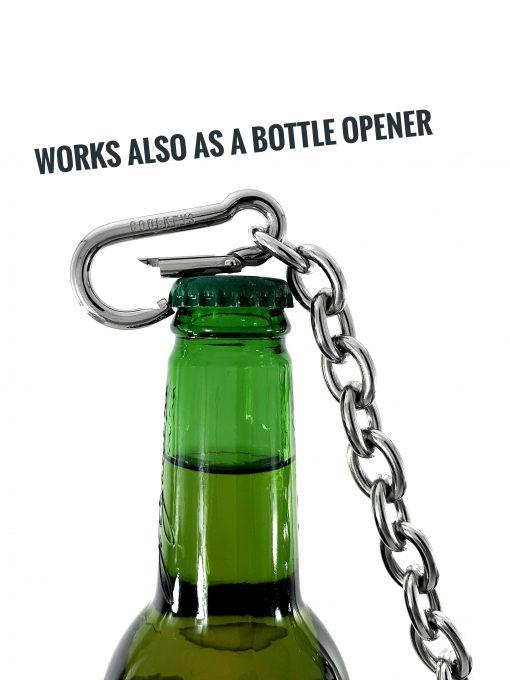 Flasköppnare nyckelkedja