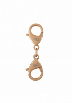 double hook flexible 18k rose gold