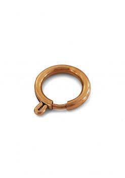Rose gold circle round hook 16mm