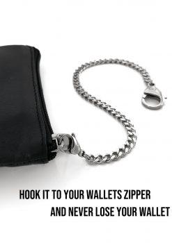 Plånbokskedja kort liten