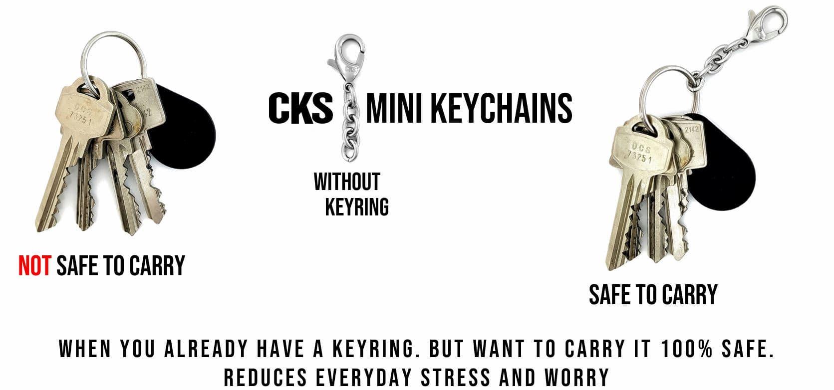 mini nyckelkedja