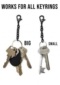 Mini keychain black