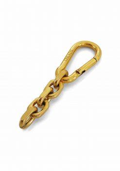 Nyckelknippa 18k guld karbinhake