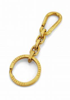 Nyckelknippa i 18K guld med karbinhake
