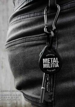 Metal militia key